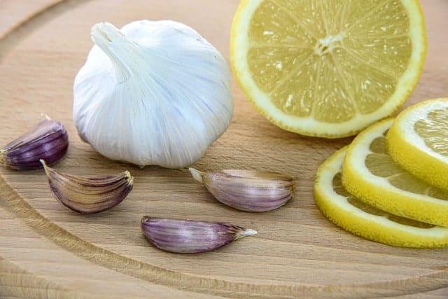 limone e aglio