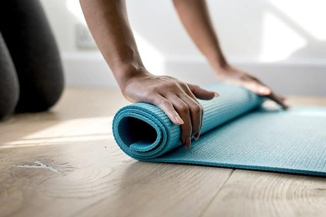 attività di fitness a casa
