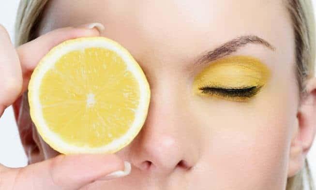 Limone, bella carnagione