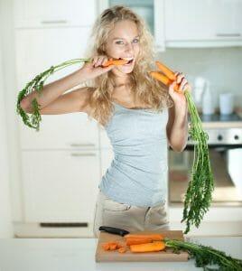 cibo per carote