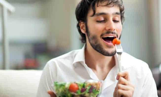 La dieta di un uomo