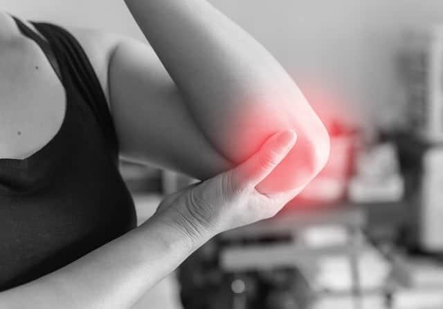 dolore all'articolazione del gomito
