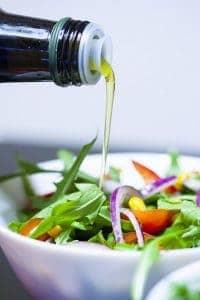 insalata con olio