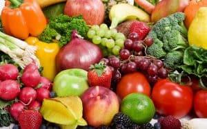 prevenzione della perdita di capelli frutta e verdura