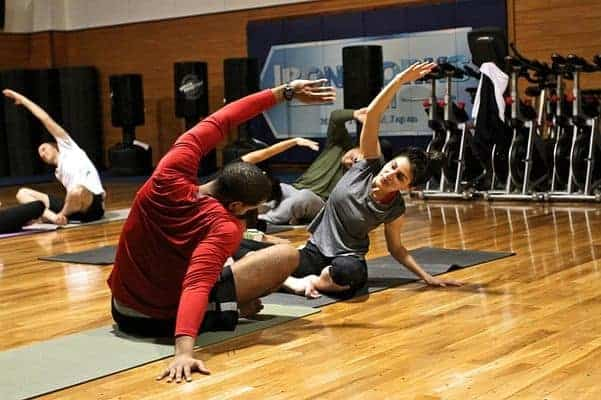 stretching post-formazione