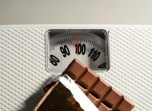 peso e cioccolato