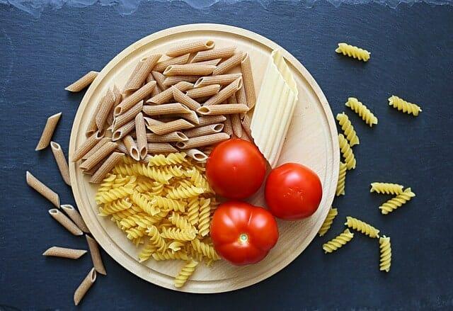 pomodori, pasta