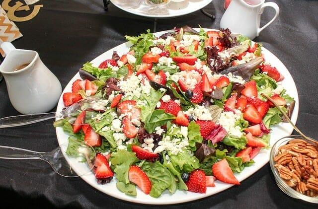 insalata di fragole