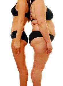 snello signora grassa