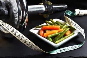 misura, verdure, manubri