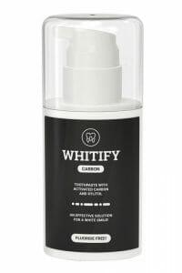 Whitify carbon dentifricio nero
