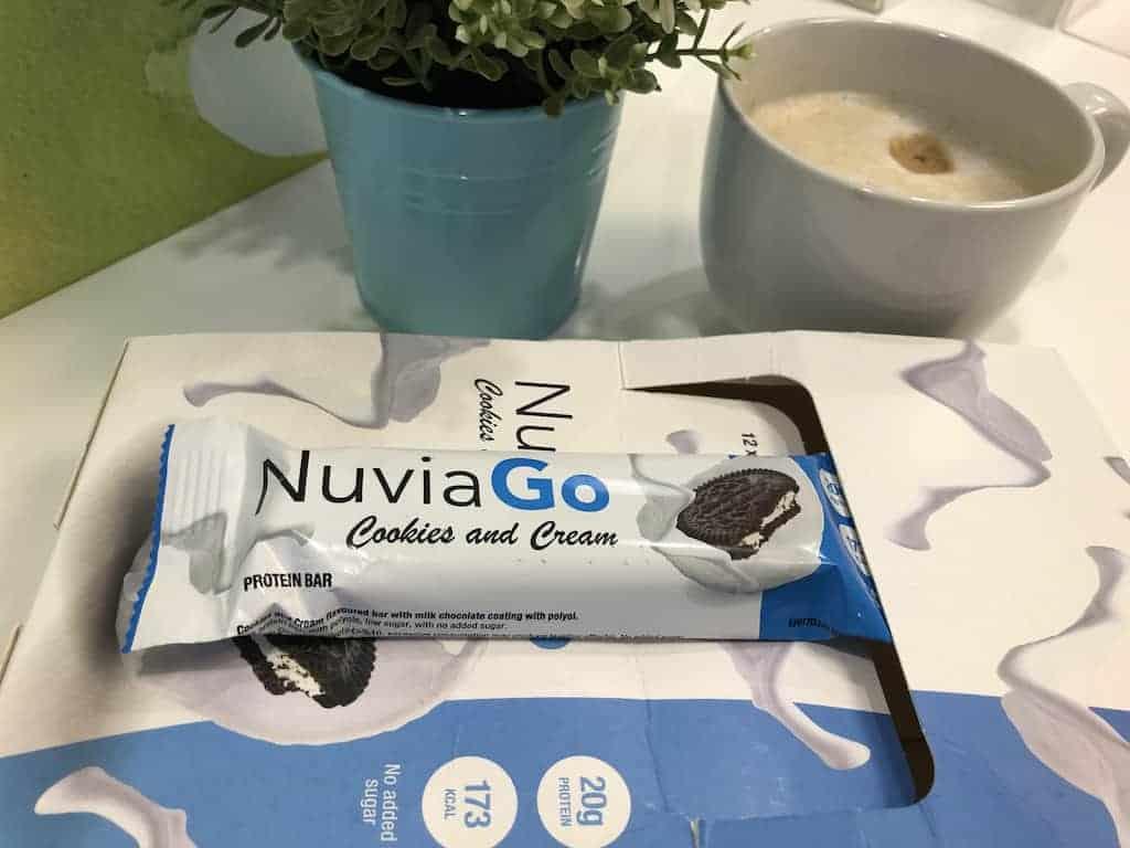 Barretta proteica NuviaGoy