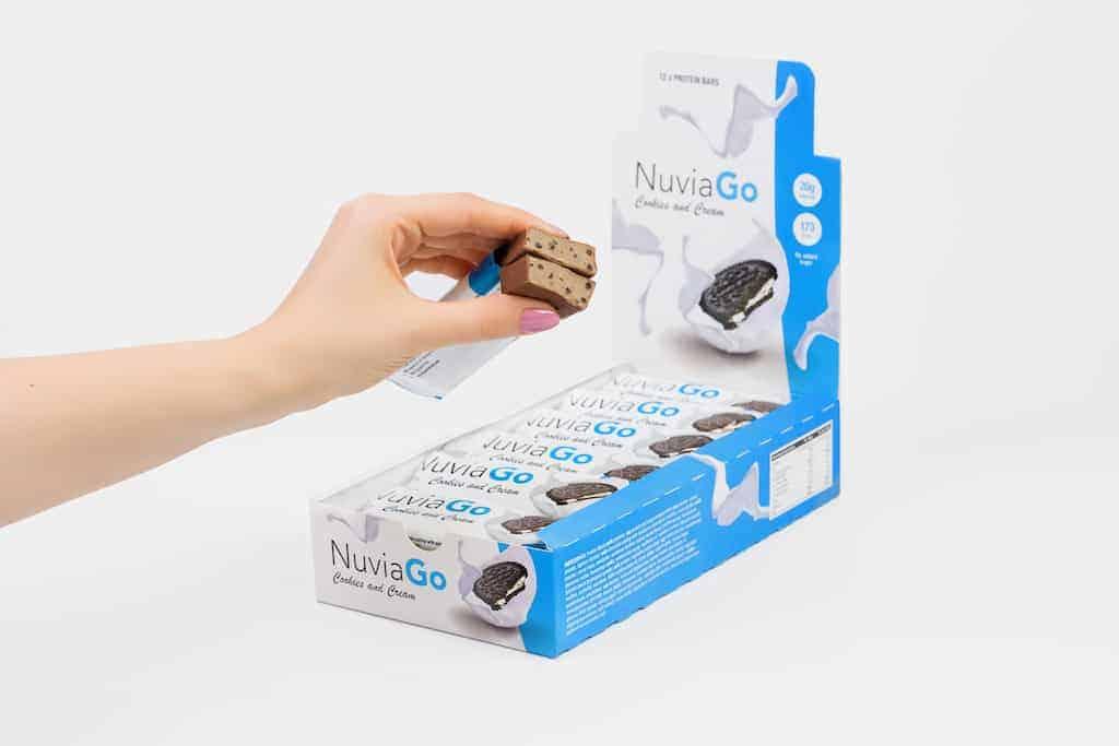 Barrette proteiche NuviaGo