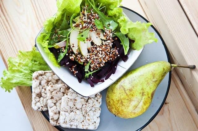 un piatto sano e dietetico