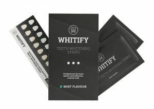 Strisce per lo sbiancamento dei denti Whitify Strips